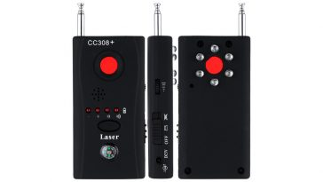 détecteur de radio fréquence anti-micro